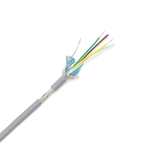 CACTUS 4022 - Câble Audio Multiconducteurs de télécommande blindage général Aluminiun + tresse
