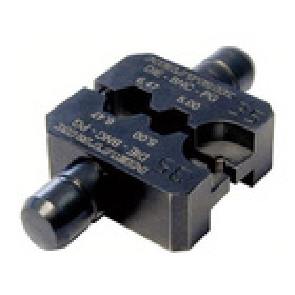 OUT.DIE-R-BNC-PU Mâchoire pour pince à sertir HX-R-BNC pour câble TESCA RG59B/U,KX6,LINEA et DUBLO Neutrik