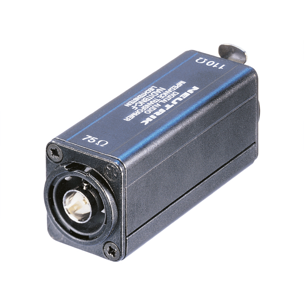 NADITBNC-F -  Neutrik Convertisseur numérique 110 Ohms BNC vers Embase XLR 3 poles Femelle Neutrik