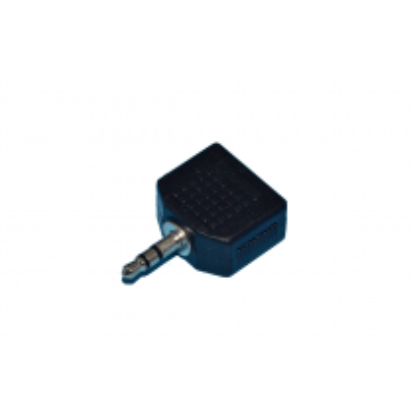 ADAPT.35SM/2X35SF - Adaptateur 3.5 Stéréo Mâle / 2 x 3.5 Stéréo Femelle