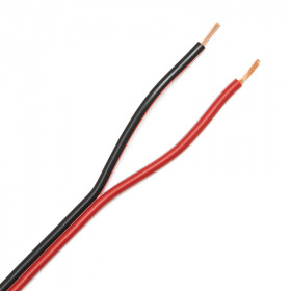 BLACKRED 2035 - Câble Audio Haut parleur méplat pour enceintes