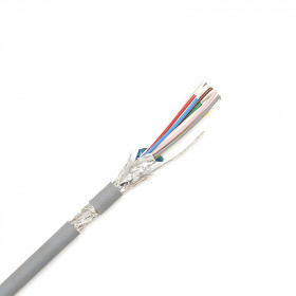 CACTUS 8022 - Câble Audio Multiconducteurs de télécommande blindage général Aluminiun + tresse