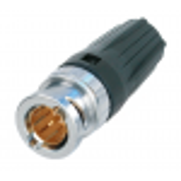 NBNC75BFG7 - Fiche BNC Neutrik Mâle pour câble TESCA SUPRA (0.6/2.8) Neutrik