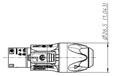 NAC3FX-W - Fiche secteur PowerCon Femelle 16 A / 240 V